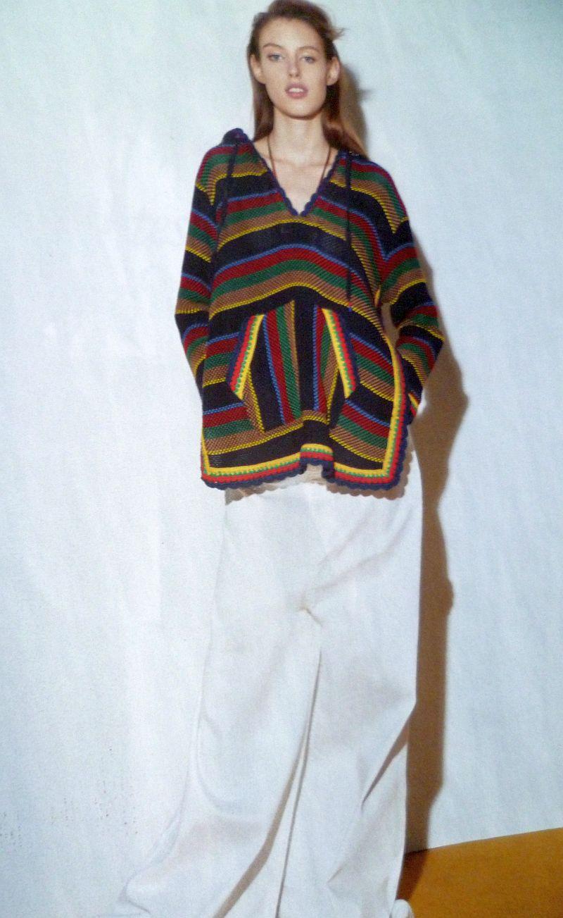 Y sihuen en Primavera los ponchos etnicos, este de Hilfiger Collection